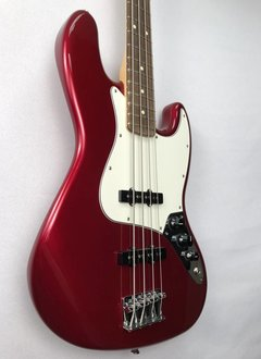 Fender Fender Standard Jazz Bass®, Rosewood Fingerboard, Candy Apple Red