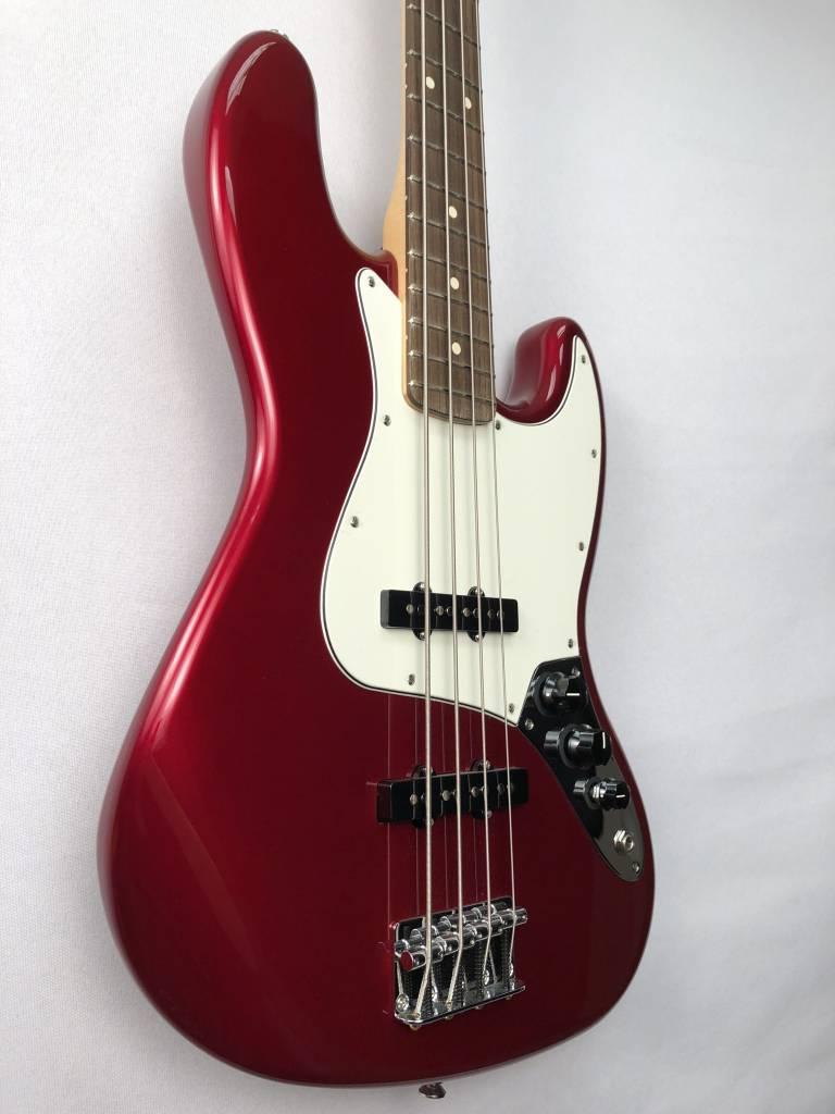 Fender Fender Standard Jazz Bass®, Rosewood Fingerboard, Candy Apple Red