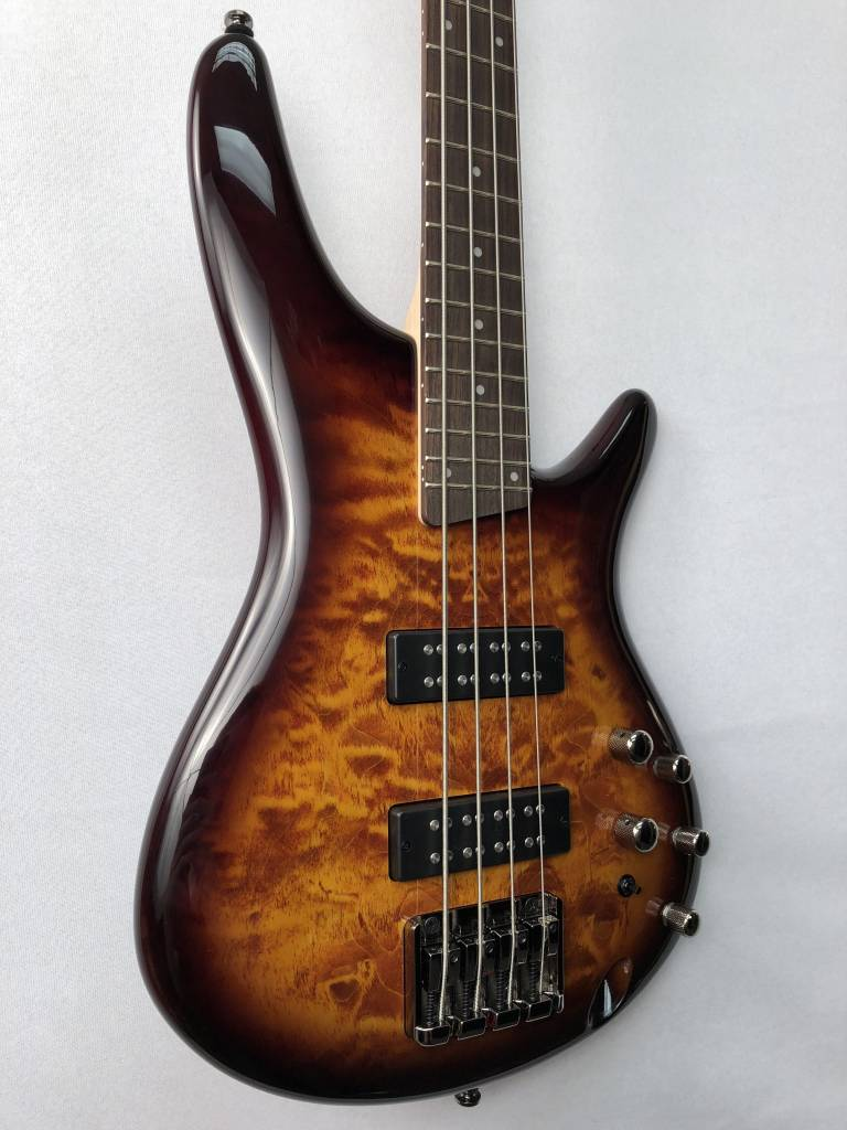 Ibanez Ibanez Soundgear SR400EQMDEB 4-String Bass, Dragon Eye Burst
