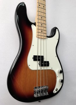 Fender Fender Standard Precision Bass®, Maple Fingerboard, Brown Sunburst