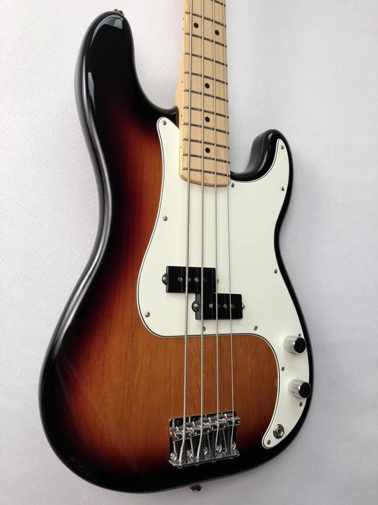 Fender Fender Standard Precision Bass®, Maple Fingerboard, Brown Sunburst