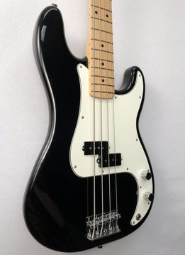 Fender Fender Standard Precision Bass®, Maple Fingerboard, Black