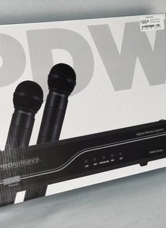 Proformance PROformance PDW-HH2 AA Digital Dual Handheld System