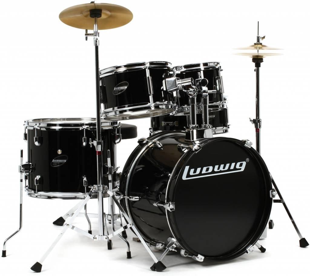 Ludwig Ludwig Junior Drumset - Black