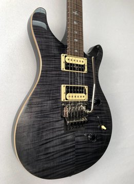 PRS PRS SE Custom 24, Floyd Rose, Gray Black