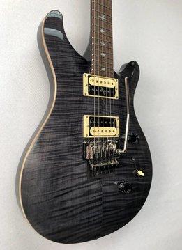 PRS PRS SE Custom 24, Floyd Rose, Gray Black
