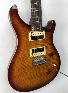 PRS PRS SE Custom 24, Tobacco Sunburst w/ Bag