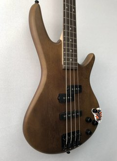 Ibanez Ibanez Gio 200 Series 4 String Bass, Brown Walnut Flat