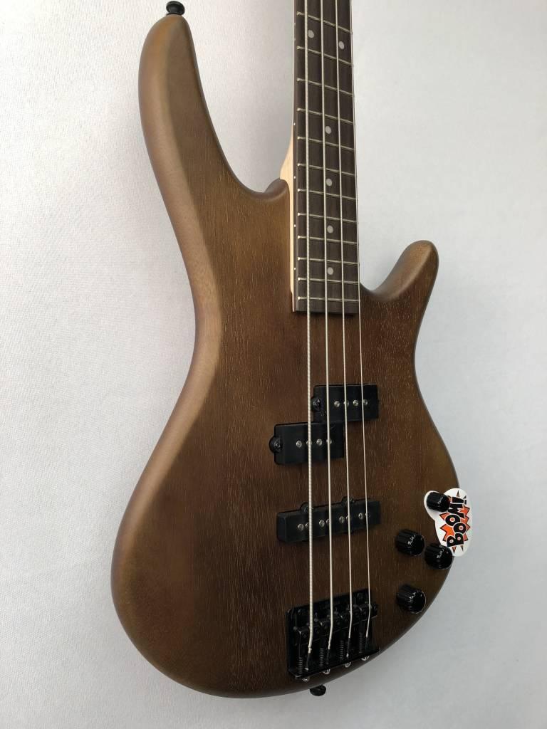 Ibanez Ibanez Gio 200 Series 4 String Bass, Brown Walnut Flat