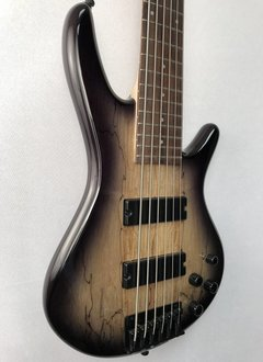 Ibanez Ibanez Gio 200 Series 6 String Bass, Spalted Maple Top, Natural Gray Burst
