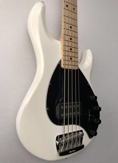 Music Man Ernie Ball Music Man Stingray 5 5-String Bass, White