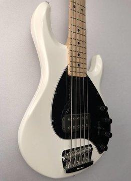 Music Man Ernie Ball Music Man Stingray 5 5-String Bass, White