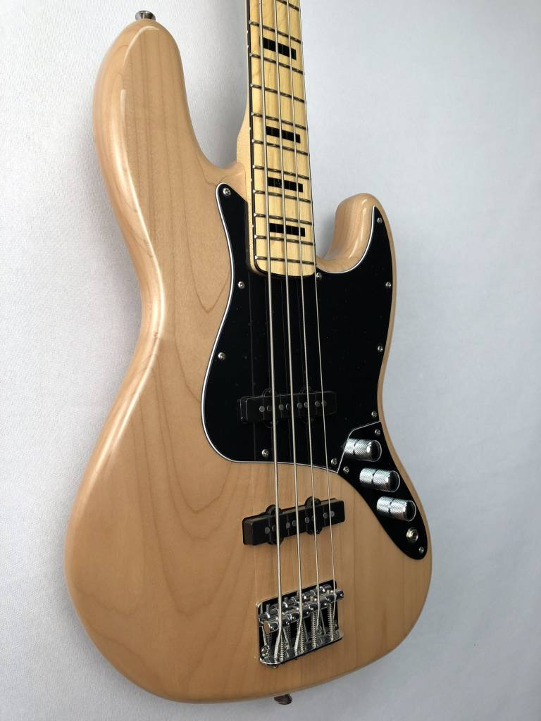 Squier Squier Vintage Modified Jazz Bass® '70s, Maple Fingerboard, Natural