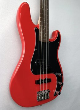 Squier Squier Affinity SeriesTM Precision Bass® PJ, Rosewood Fingerboard, Race Red