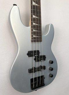 Jackson Jackson JS Series Concert Bass™ Minion JS1X, Rosewood Fingerboard, Silver