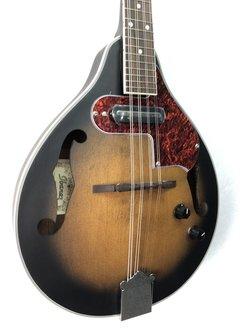 Ibanez Ibanez M510E A-Style Acoustic/Electric Mandolin, Open Pore Vintage Sunburst