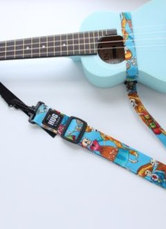 The Hug Strap The Hug Strap for Ukulele- Skeleton Party