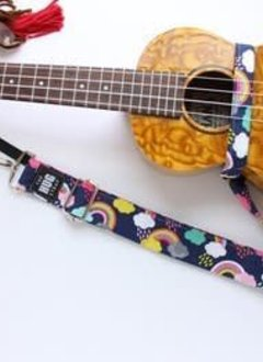The Hug Strap The Hug Strap for Ukulele- Rainbows and Clouds
