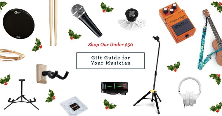 Under $50 Gift Guide for Your Musician