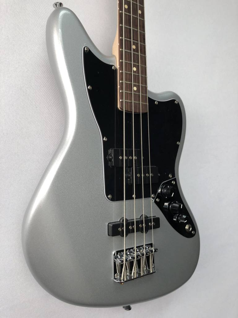 Squier Squier Vintage Modified Jaguar® Bass Special SS, Rosewood Fingerboard, Silver