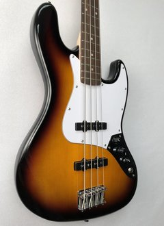 Squier Squier Affinity Jazz Bass®, Rosewood Fingerboard, Brown Sunburst
