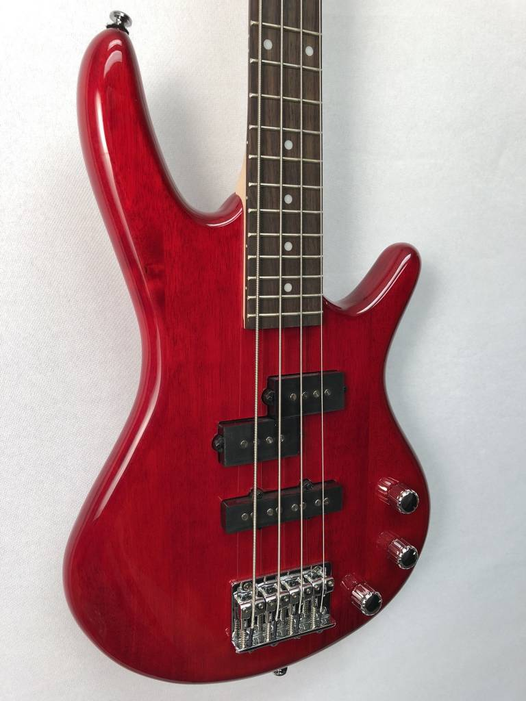 Ibanez Ibanez Gio Mikro 4 String Bass - Trans Red