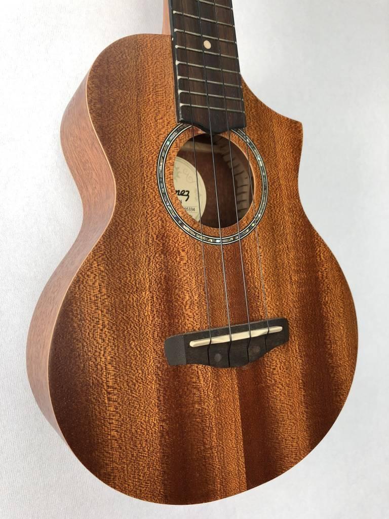 Ibanez Ibanez UEW5 Acoustic Concert Ukulele, Mahogany