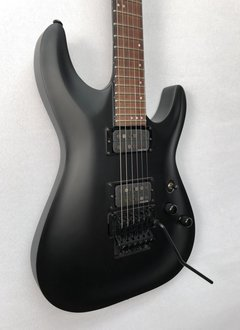 Schecter GSchecter Stealth C-1 Electric Guitar With Floyd Rose, Satin Black