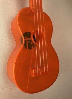 Kala Kala Waterman Soprano Ukulele, Flourescent Orange