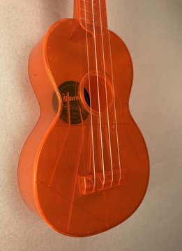 Kala Kala Waterman Soprano Ukulele, Flourescent Orange