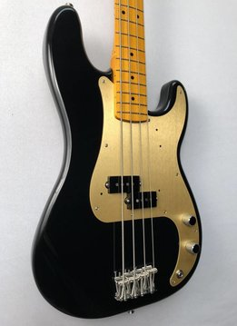Fender Fender Classic Series '50s Precision Bass® Lacquer, Maple Fingerboard, Black