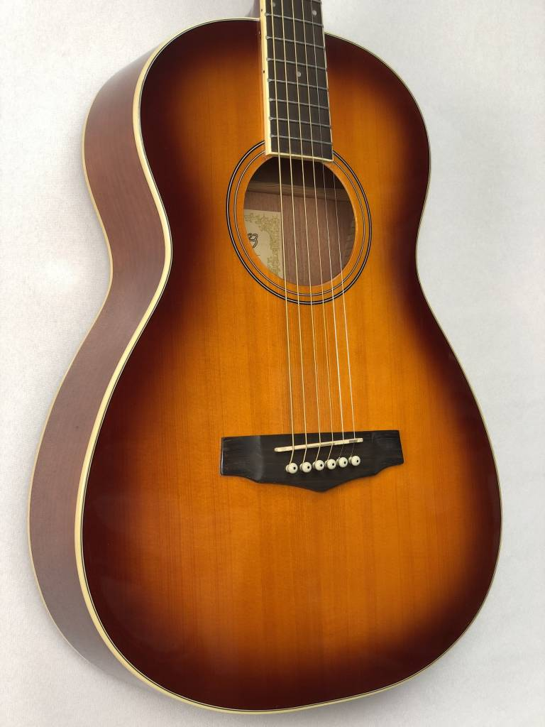 Ibanez Ibanez PN15BS Parlor Acoustic, Gloss Brown Sunburst