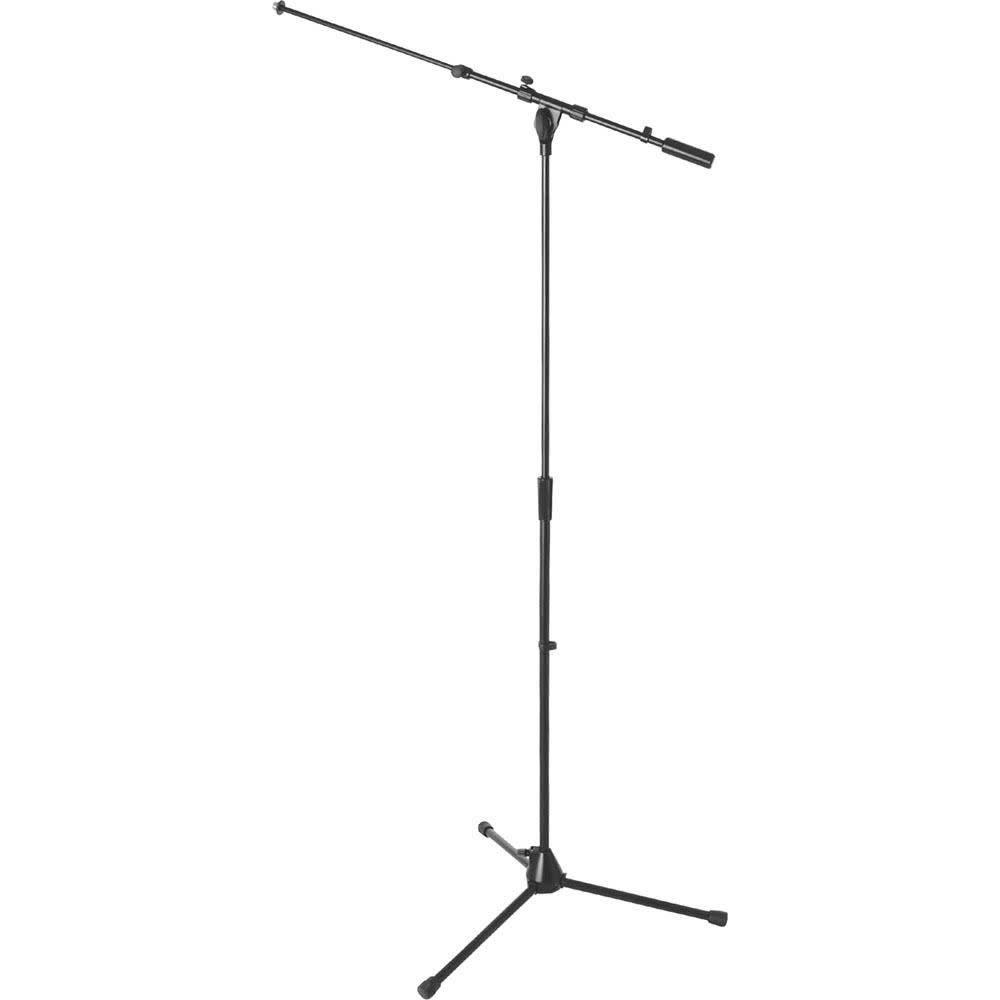 On-Stage On-Stage MS9701TB+ Heavy-Duty Tele-Boom Microphone Stand- Black