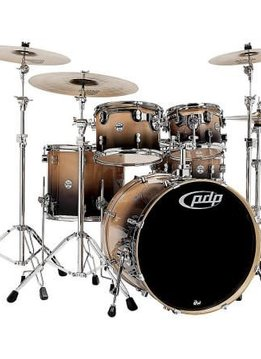 PDP PDP Concept Birch 5 Piece Shell Pack, Natural to Charcoal Fade