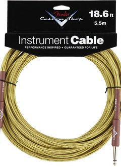 Fender Fender® Custom Shop Cable, 18.6', Tweed