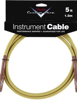 Fender Fender® Custom Shop Cable, 5', Tweed