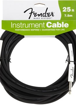 Fender Fender®  Performance Series Instrument Cable, 25', Black
