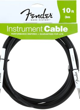 Fender Fender® Performance Series Instrument Cable, 10', Black