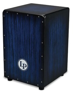 LP LP® Aspire® Accents Cajon - Blue Burst Streak