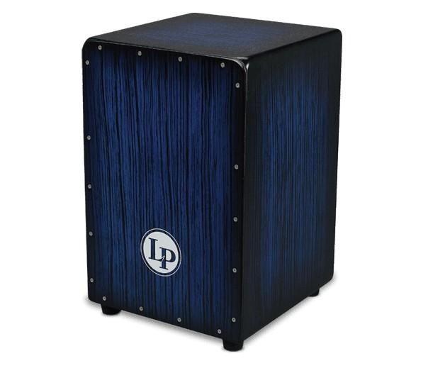 LP LP® Aspire® Accents Cajon - Blue Burst Streak
