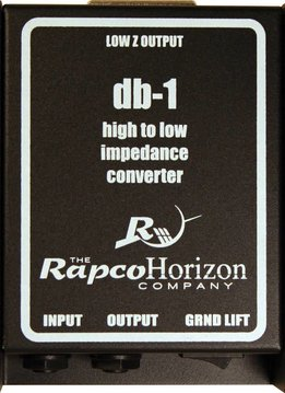 Rapco DB-1 Passive Direct Box