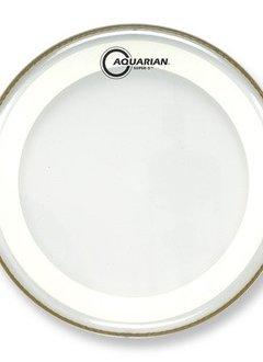 """Aquarian Aquarian 10"""" Super 2 Coated w/ Studio-X Ring"""