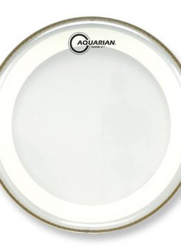 "Aquarian Aquarian 10"" Super 2 Coated w/ Studio-X Ring"