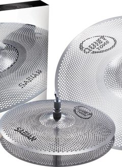"Sabian Sabian Quiet Tone 3pc Low Volume Practice Cymbals, 13"" 18"""