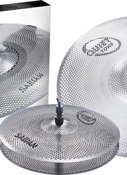 "Sabian Sabian Quiet Tone 3pc Low Volume Practice Cymbals, 13"", 18"""