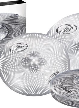 "Sabian Sabian Quiet Tone 4pc Low Volume Practice Cymbals, 13"", 14"", 18"""
