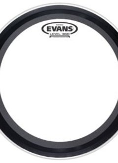 "Evans Evans 24"" Emad2 Clear Bass"