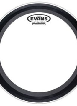 "Evans 24"" Emad2 Clear Bass"