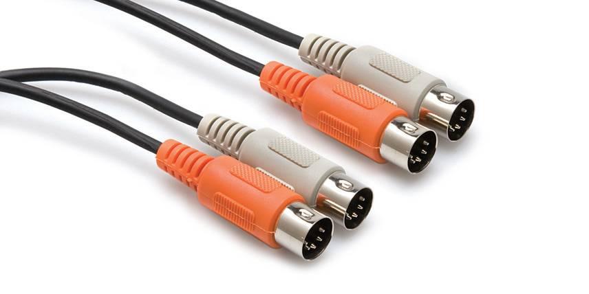 Hosa Hosa MID-203 Dual MIDI Cable, 3M
