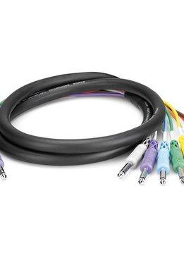 Hosa Hosa STP-802 4 Channel Insert Snake Cable, 2M